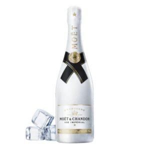 Champagne Demi-sec Ice Impérial con ghiaccio