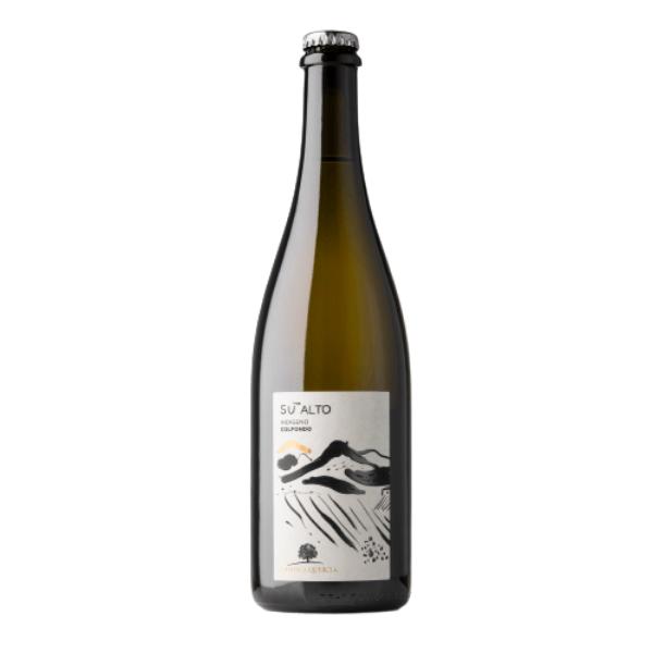 Vino Bianco Frizzante Sui Lieviti Su' Alto Indigeno Bio 2017